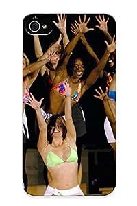 Graceyou 3d2a53c6316 Case For Iphone 4/4s With Nice Washinn Redskins Nfl Football Cheerleaderrjpeg Appearance