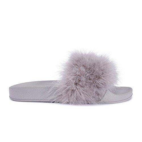Mizzshuzz - Zapatos con tacón mujer