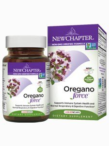 New Chapter Oregano Force Supplement, 30 Liquid Vcs (3 Bottles)