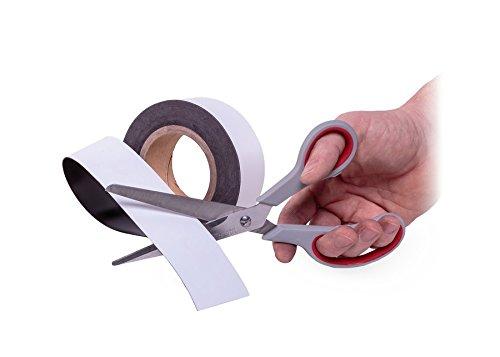 10/m 40/mm de alto color blanco Etiquetado bandas MBR.We.10/m.40/cinta magn/ética rollo