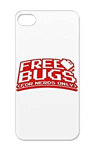 Hugs Nerd Html Free Geek Computer Bug Girly Love Miscellaneous Geek Css TPU Bugs For Nerds 2 F1 Red Iphone 5/5s Protective Case