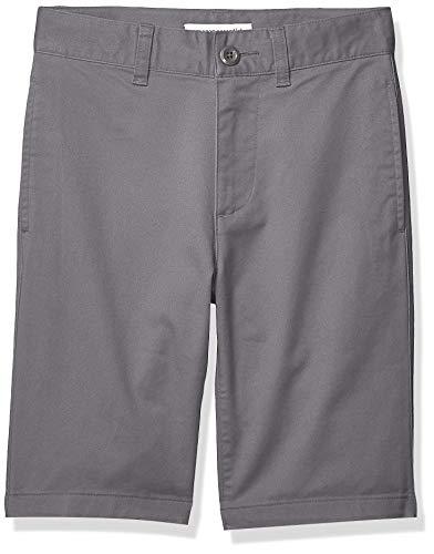 Amazon Essentials Boy's Flat Front Uniform Chino Short