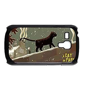 Generic For Samsung S3 Mini Custom Design With A Cat In Paris Design Phone Cases For Women Choose Design 1