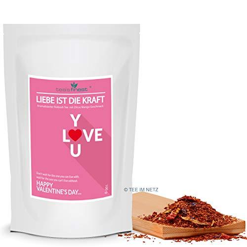 Valentinstag Tee- Liebe ist die Kraft (100 Gramm)