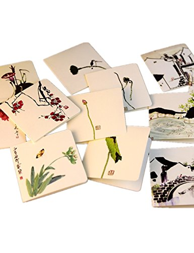 (Featuring Hand-Drawn Thank You Cards-24pcs Assorted Blank All-Occasion Note)