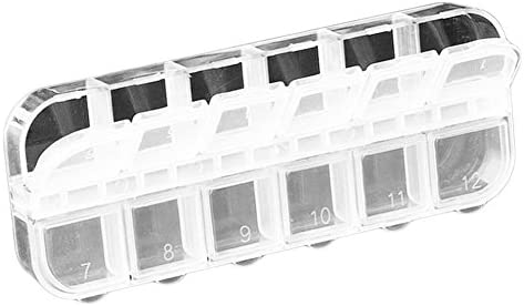 Ruikey 収納ボックス 小物入れ 収納ケース ジュエリーアクセサリーケース 12マス 透明