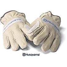 New Husqvarna Xtreme Duty Leather Work Glove Large 531300274 Great for Arborist __#petepmp1960