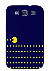 Sythms-3255-pgkzmic Exultantor Awesome Case Cover Compatible With Galaxy S3 - Pacman