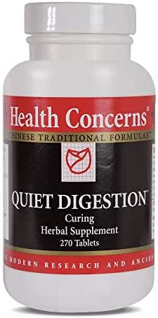 Health Concerns - Quiet Digestion - Curing Herbal Supplement - 270 Tablets