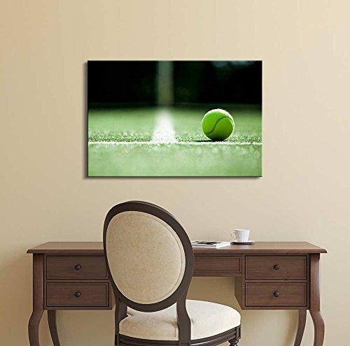 Ace Tennis Ball on Grass Courts Grand Slam Major Tournament
