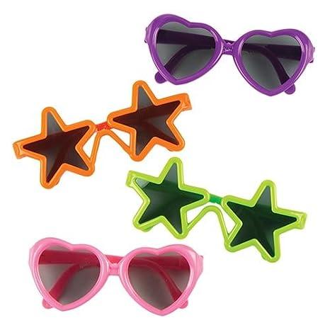 Lunettes de soleil Funky (lot de 4) - Petit cadeau pour pochettes surprises 3191c10bace2