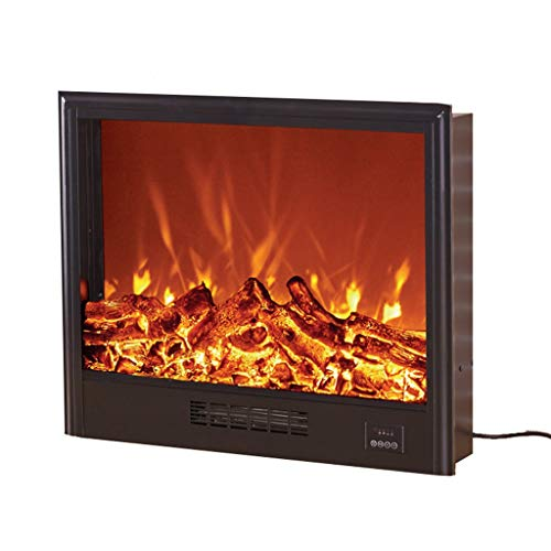 Cheap Electric Fireplace - Heating Simulation Flame Embedded / / LED Electric Fireplace core Long 740 Thick 180 high 600mm Black Friday & Cyber Monday 2019