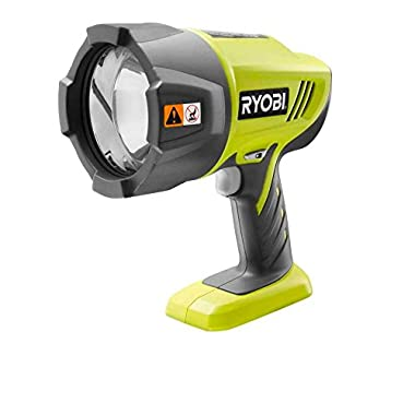 Ryobi P716 ONE Plus 18V Cordless Xenon Hi-Beam Spotlight (Bare Tool Only - battery and charger not included)