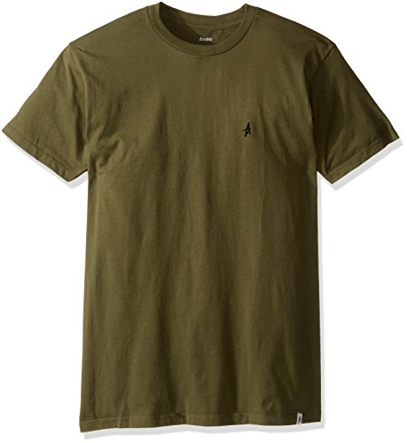 Altamont Tee (ALTAMONT Men's Micro Embroidery T-Shirt, Military, Small)
