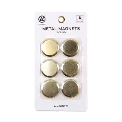 Ubrands Fashion Magnets - 6ct Multi-Colored