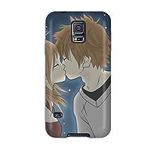 New Arrival Gqegvbj4906KCfDu Premium Galaxy S5 Case(hds For Love Kiss)