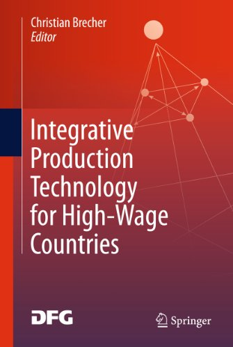 Integrative Production Technology for High-Wage Countries Pdf