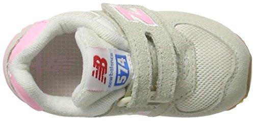 Sneakers Unisex Bambini Balance – Fuschia Velcro 574 Rosa New qTBwftq