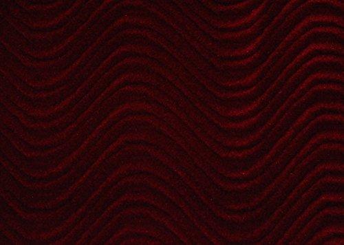 19 Fabric (WAVE SWIRL FLOCKING VELVET UPHOLSTERY FABRIC 60