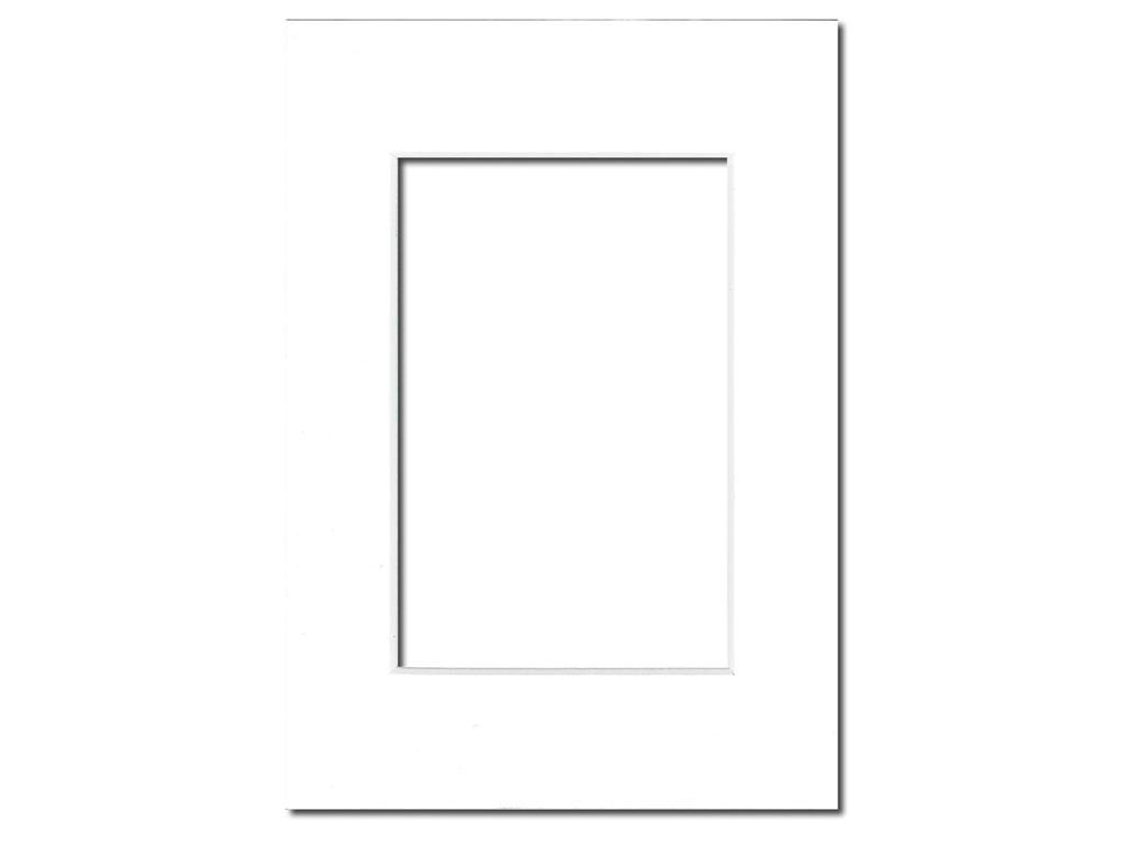 White Core//Britanny Blue PA Framing 5 x 7 inches Frame for 3.5 x 5 inches Photo Art Size Photo Mat Board