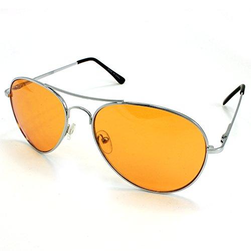 Enimay Mens The Hangover Bradley Cooper Colored Aviator Poker Sunglasses ()