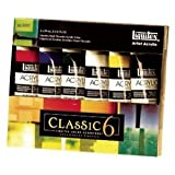 Liquitex Arts Crafts Drawing Tools Accessories Heavy Body Color Classic Beginner Set