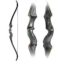 Archery Takedown Recurve Bow 58inch Trad...
