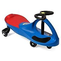The Original PlasmaCar de PlaSmart - Blue - Ride On Toy, de 3 años en adelante, sin baterías, engranajes ni pedales, Twist, Turn, Wiggle para una diversión sin fin