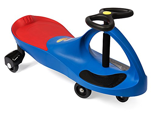 (The Original PlasmaCar by PlaSmart - Blue - Ride On Toy, Ages 3 yrs and Up, No batteries, gears, or pedals, Twist, Turn, Wiggle for endless fun)