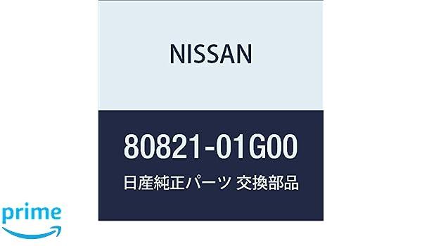Genuine Nissan Belt Weather-Strip 80821-01G00