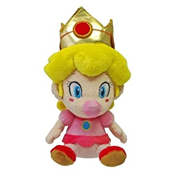 Global Holdings Peluche de Princesa Peach de Super Mario, 12,7 cm