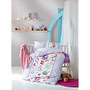 41BwpyxDNEL._SS300_ Mermaid Crib Bedding and Mermaid Nursery Bedding Sets