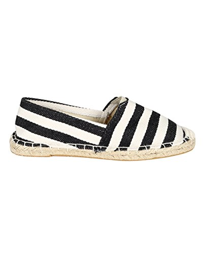 Balletto Espadrillas Ball Light Per Donna In Tessuto Cc57 - Nero