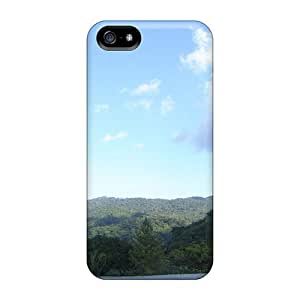 LJF phone case Durable Case For The Iphone 5/5s- Eco-friendly Retail Packaging(forests)