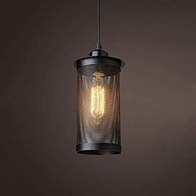 La decoración del hogar Iluminación Shade Hierro Metal retro de la ...