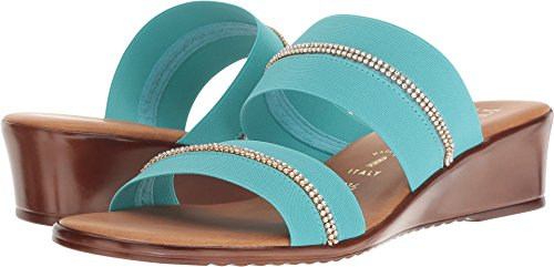 ITALIAN Shoemakers Women's 5815S8 Turquoise 8 M US