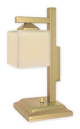 Sabor Completo lámpara de mesa en oro blanco Bauhaus Diseño ...