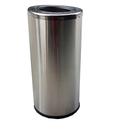 FixtureDisplays FixtureDisplays Stainless Steel Trash Can Ga