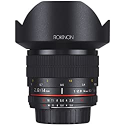 Rokinon 14mm f/2.8 IF ED UMC Ultra Wide Angle Fixed Lens w/ Built-in AE Chip