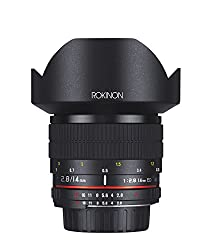 Rokinon 14mm F2.8 If Ed Umc Ultra Wide Angle Fixed Lens W Built-in Ae Chip For Nikon