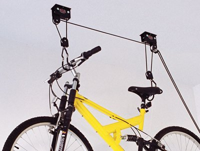 Deluxe Hoist - Gear Up 40030 Up and Away Deluxe Hoist System with Accessory Straps, Black