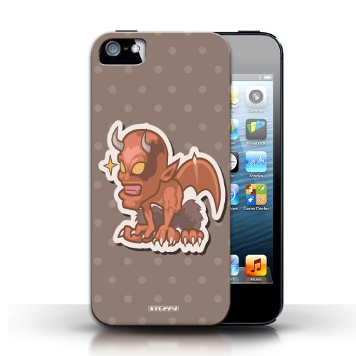 Etui / Coque pour Apple iPhone 5/5S / Démon conception / Collection de Petits monstres