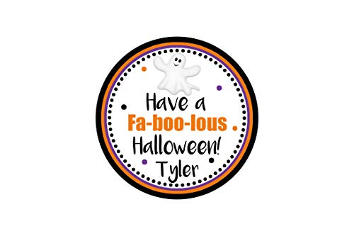 Have a Faboolous Halloween, Faboolous Tag, Halloween Party, School Halloween Party, Set of 12 Tags
