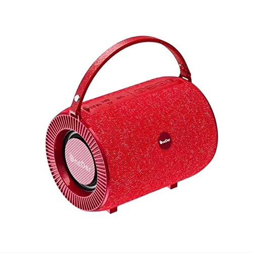 LDQLSQ Portable Bluetooth Speaker Waterproof Wireless Stereo Pairing Fabric Outdoor Audio Mini Wireless Mini Speaker…