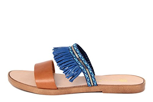 Sandalias RENZO azul mujer de Sintético vestir azul Material para GAGLIANI de Fq5WHx5P