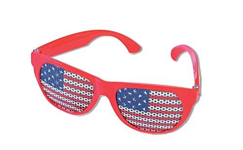 Forum Novelties Patriotic Flag Sunglasses