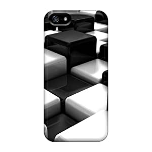 New Style Randolphfashion2010 Cubes 8003 Premium Covers Cases For Iphone 5/5s