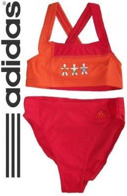 pasaporte condensador Asimilar  adidas Bikini niña, niña, Naranja: Amazon.es: Deportes y aire libre