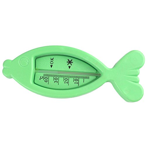 3 Pcs Plastic Fish Float Floating Toy Baby Bath Tub Water Sensor Thermometer