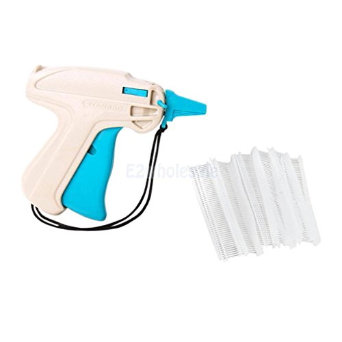 Clothing Garment Price Label Tagging Tagger Gun Machine + 5000pcs 0.6